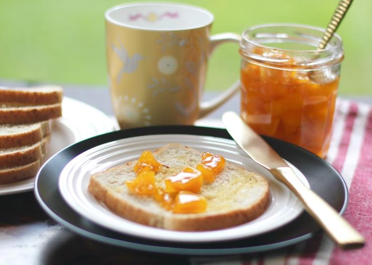 homemade mango jam1